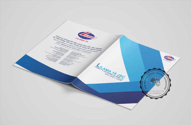 Mẫu profile công ty cổ phần Lilama 18