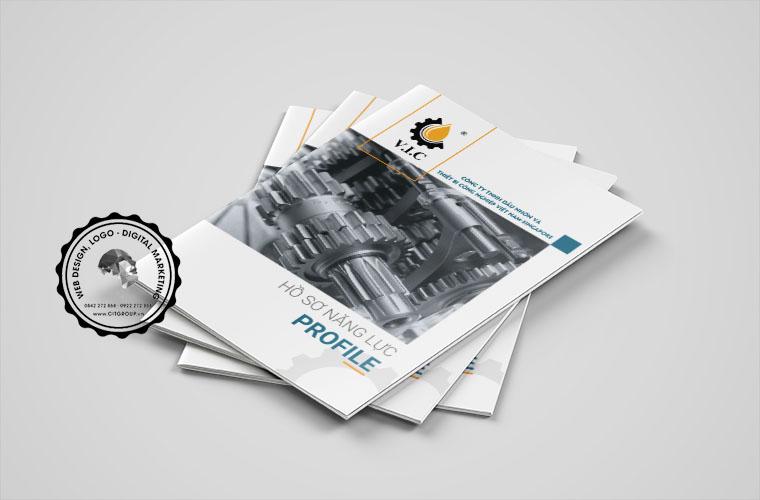 Thiết kế hồ sơ năng lực công ty VIC