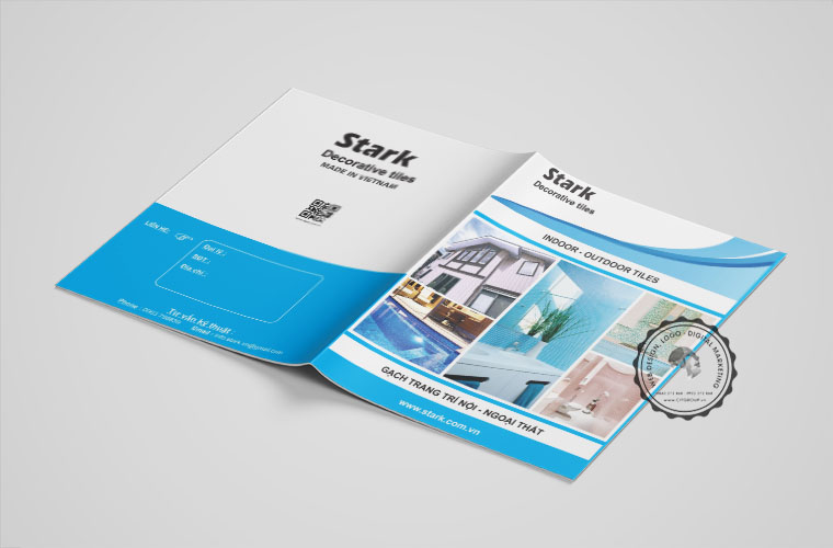 Thiết kế Catalog công ty chuyên nghiệp
