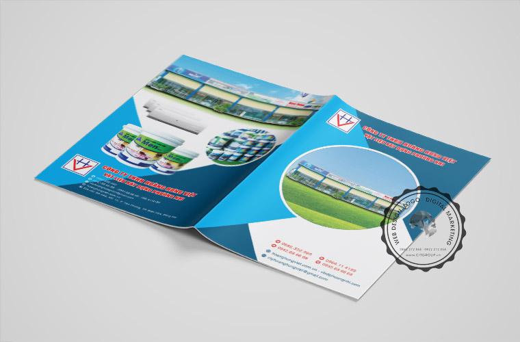 Thiết kế catalogue đẹp cho VLXD Phương Nhi
