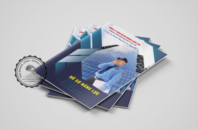 Mẫu profile công ty bảo vệ Hoàng Long Sơn tại Biên Hòa