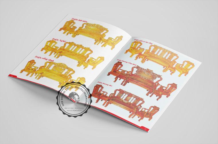 Thiết kế catalog cửa hàng gỗ Minh Điệp tại Biên Hòa