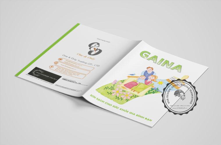 Catalog sản phẩm sơn nước GAINA