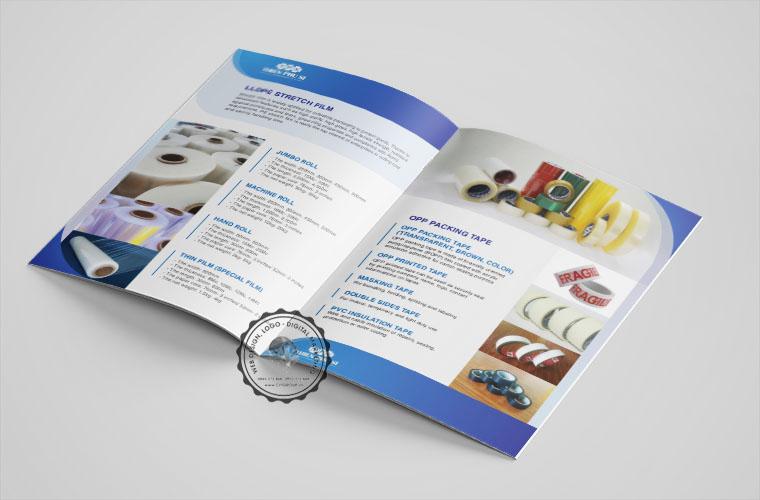 Mẫu catalogue chuyên nghiệp công ty Thiên Phú Sĩ