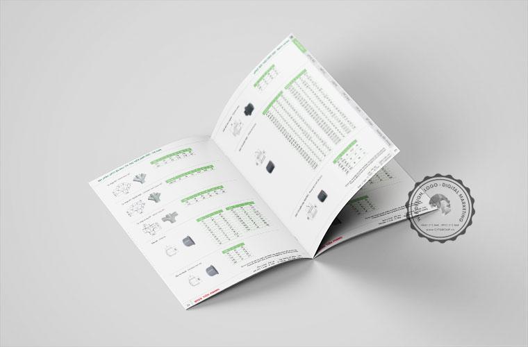 Mẫu catalog sản phẩm công ty nhựa Tiền Phong