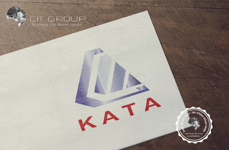 Thiết kế logo công ty xây dựng KATA