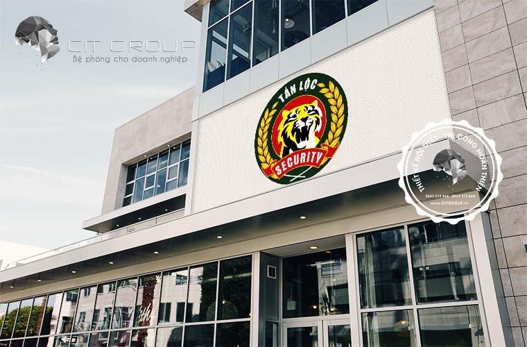 Thiết kế logo công ty Tấn Lộc