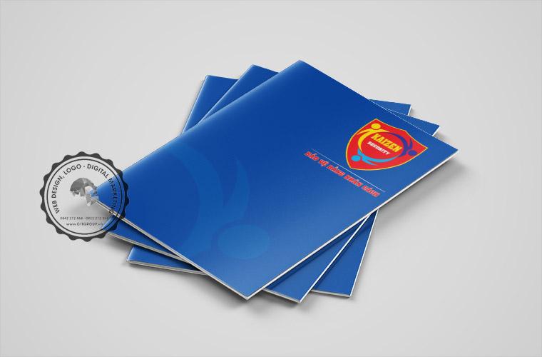 Mẫu profile công ty bảo vệ KAIZEN