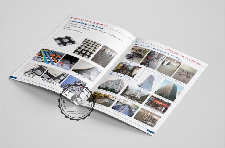 Thiết kế hồ sơ năng lực công ty Mai Gia