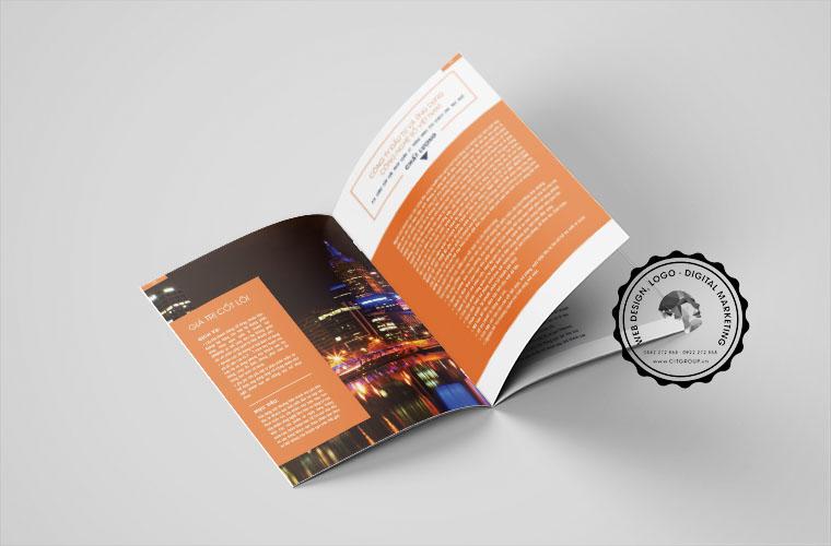 Thiết kế hồ sơ năng lực công ty TTA Việt Nam