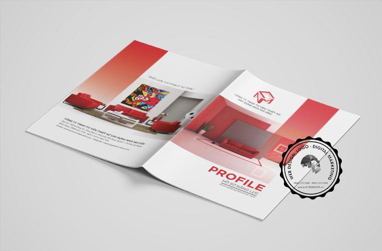 Thiết kế hồ sơ năng lực công ty Nhà Mơ Ước