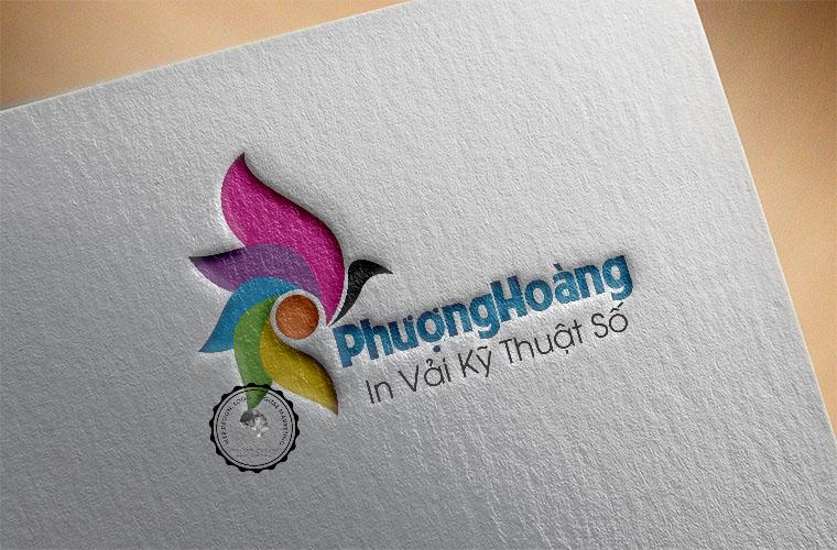 Logo công ty in kỹ thuật số