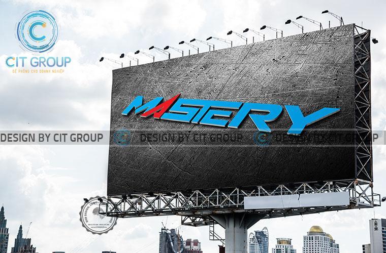 Thiết kế logo công ty Mastery