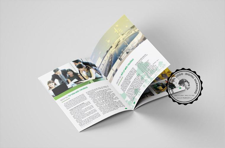 Thiết kế và in ấn hồ sơ năng lực Biên Hòa