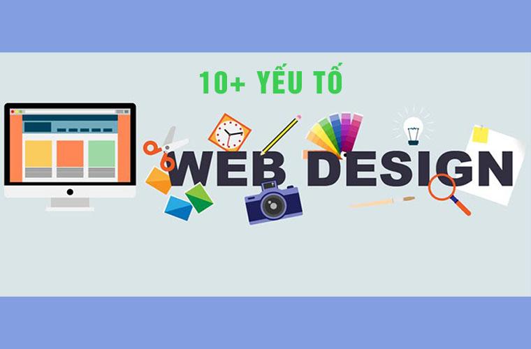 yếu tố thiết kế web