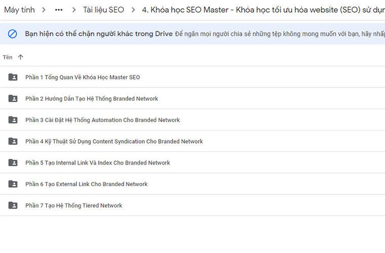 Khóa học SEO Master RSS Syndication và Domain Authority Stacking